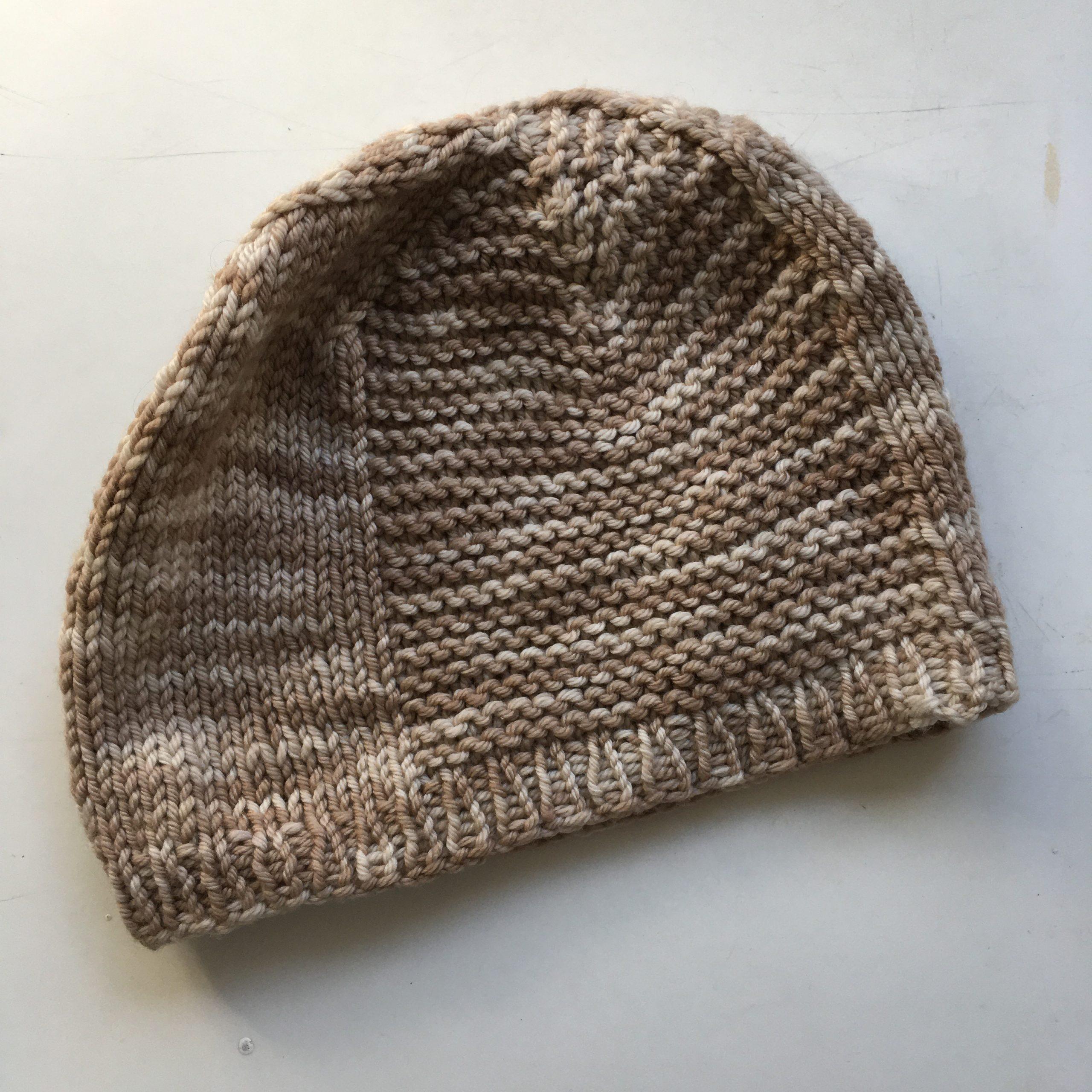Knit Hat - Barley pattern by TinCanKnits