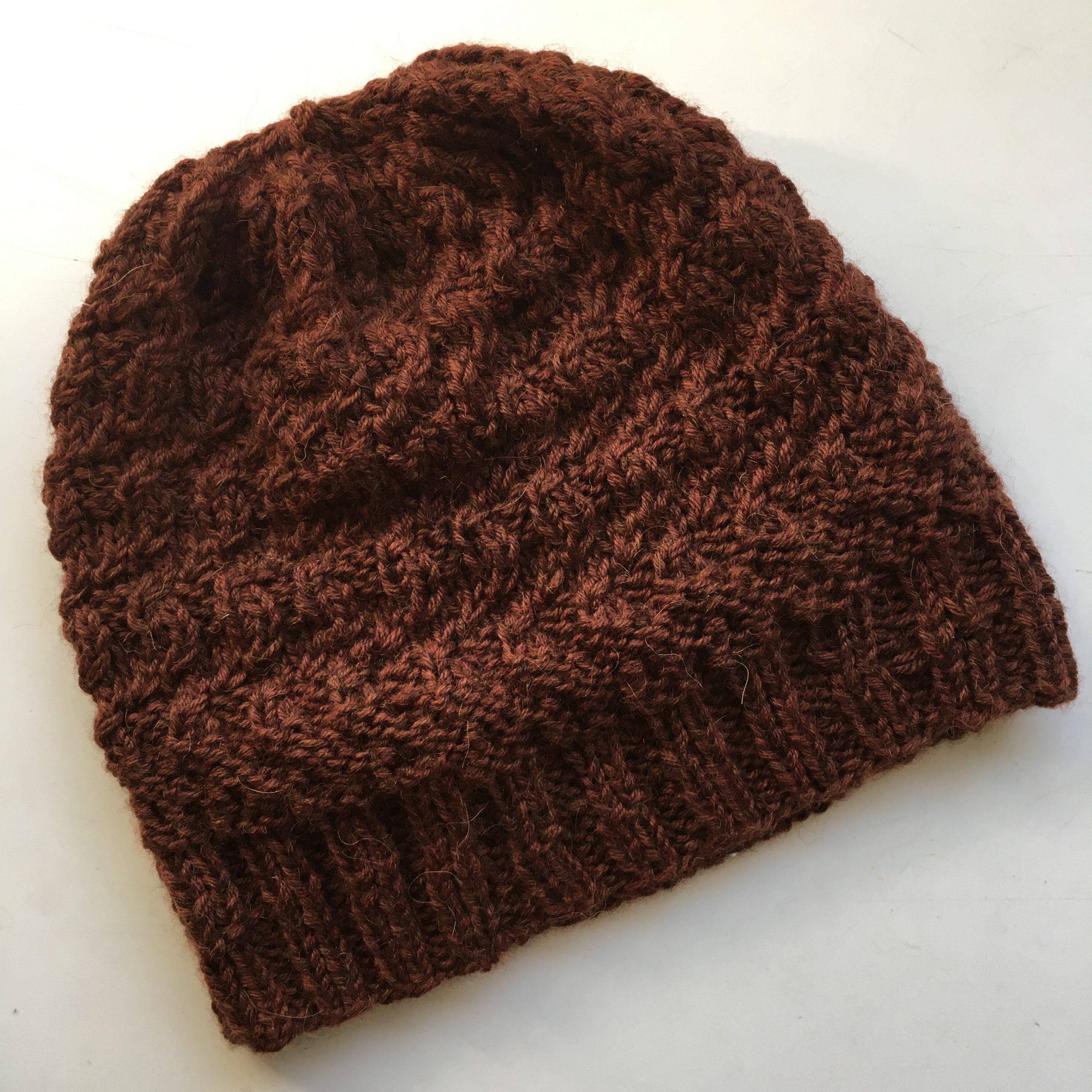 Winter Hat - Decumani pattern by Renate Kamm