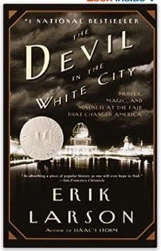 The Devil in the White City book cover.